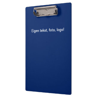 Pranchetas Klembord uni Blauw - Geel