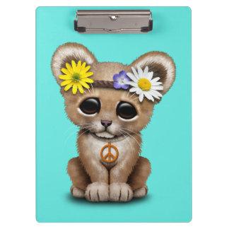 Pranchetas Leão bonito Cub do Hippie