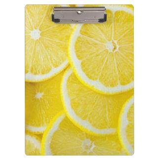 Pranchetas Limões amarelos da fatia