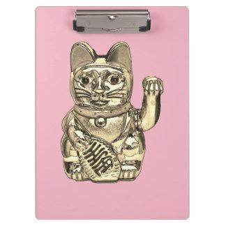 Pranchetas Maneki-neko, gato afortunado, Winkekatze
