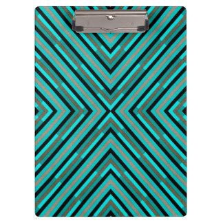 Pranchetas Máscaras Checkered diagonais modernas do teste