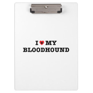 Pranchetas Mim coração meu Bloodhound