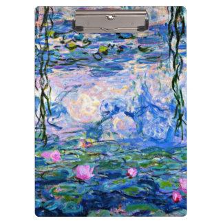 Pranchetas Monet - lírios de água, 1919
