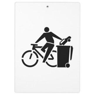 Pranchetas Monte uma bicicleta não um carro