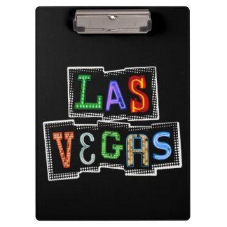 Pranchetas Néon retro de Las Vegas
