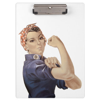 Pranchetas Nós podemos fazê-lo Rosie o rebitador WW2