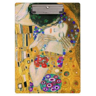 Pranchetas O beijo por Gustavo Klimt