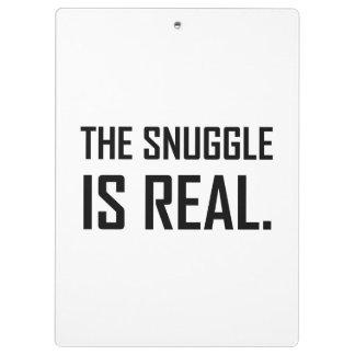 Pranchetas O Snuggle é real