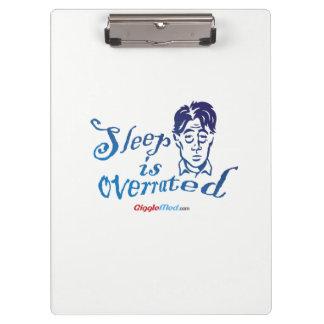 Pranchetas O sono é avaliado em excesso