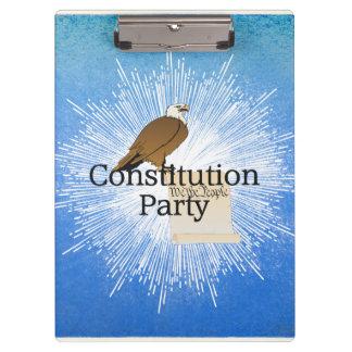 Pranchetas Partido da constituição do T