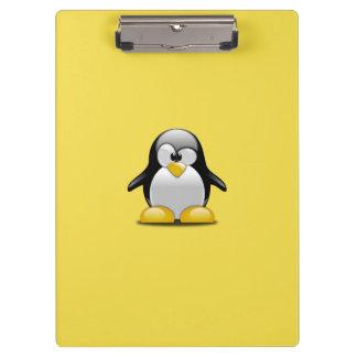 Pranchetas Personalize pinguins bonitos