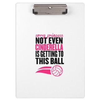 Pranchetas ` Pesaroso da princesa Voleibol Bola