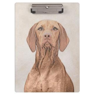 Pranchetas Pintura de Vizsla - arte original bonito do cão