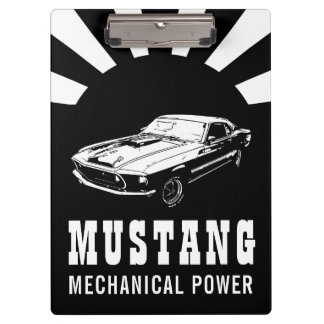 Pranchetas Poder mecânico do mustang
