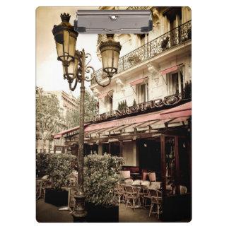 Pranchetas Restaurante da rua, Paris, France