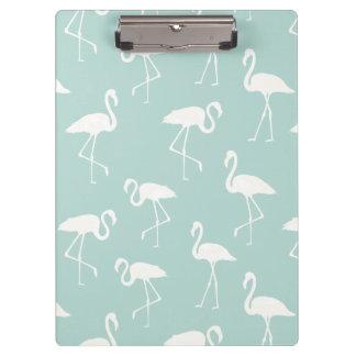 Pranchetas Silhuetas do flamingo, teste padrão dos flamingos