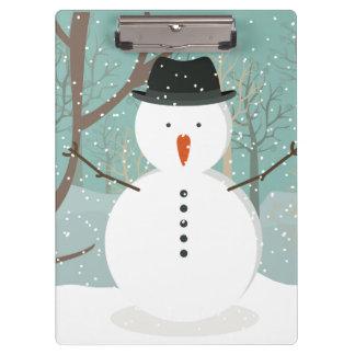 Pranchetas Sr. Inverno Boneco de neve