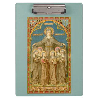 Pranchetas St. Clare de Assisi & das freiras (SAU 27)