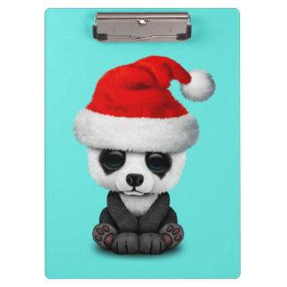 Pranchetas Urso de panda do bebê que veste um chapéu do papai