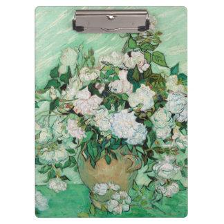 Pranchetas Vaso de Van Gogh com arte floral do vintage