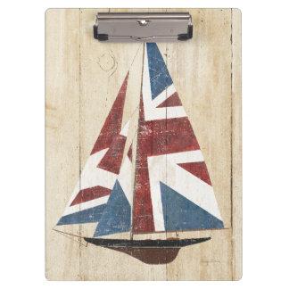 Pranchetas Veleiro britânico da bandeira