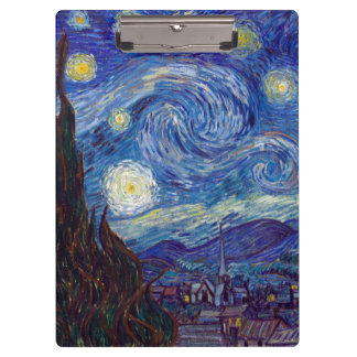 Pranchetas VINCENT VAN GOGH - noite estrelado 1889