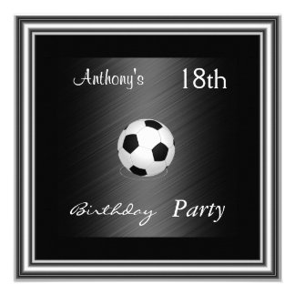 Prata da festa de aniversário do futebol do convit