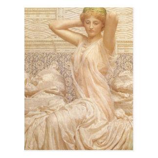 Prata por Albert Joseph Moore, belas artes do Cartão Postal