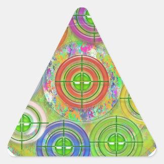 Prática de alvo de ART101 Red Bull Adesivo Triangular