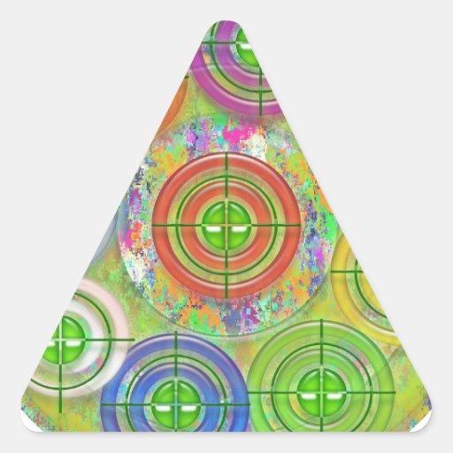 Prática de alvo de ART101 Red Bull Adesivo Triângulo