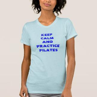 Prática Pilates Camiseta