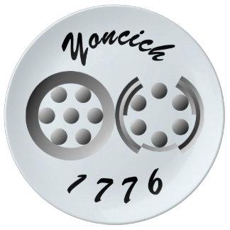 Prato 1776 centesimal por Kenneth Yoncich