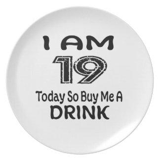 Prato 19 hoje compre-me assim uma bebida