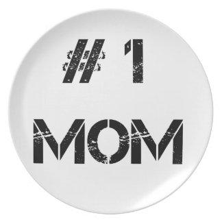 Prato # 1 mamãe da mãe da mamã