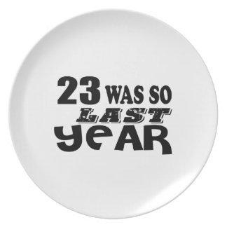 Prato 23 era assim tão no ano passado o design do