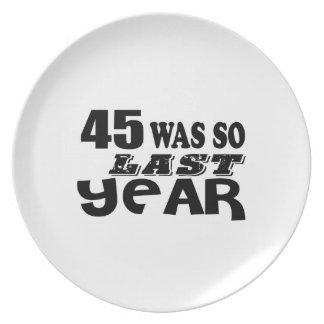 Prato 45 era assim tão no ano passado o design do