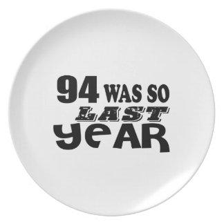 Prato 94 era assim tão no ano passado o design do
