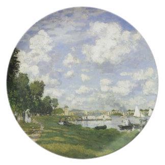 Prato A bacia em Argenteuil - Claude Monet