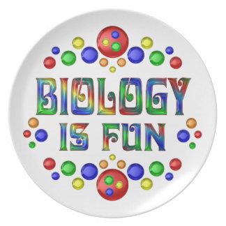 Prato A biologia é divertimento
