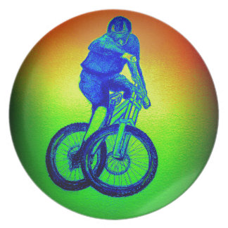 Prato A camisa do Mountain bike T dos meninos apresenta
