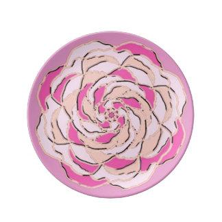 Prato A couve cor-de-rosa aumentou