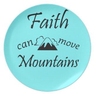 Prato A fé pode mover montanhas