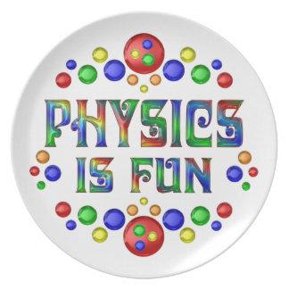 Prato A física é divertimento