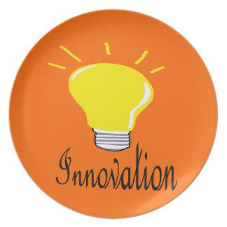 Prato a luz da inovação