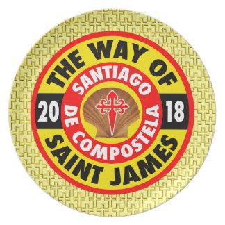 Prato A maneira de St James 2018