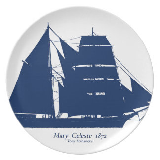 Prato A Mary Celeste 1872 por fernandes tony