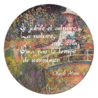 Prato A natureza no art. de Monet