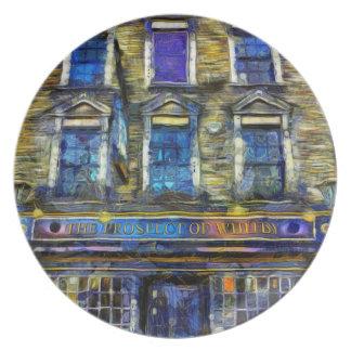 Prato A perspectiva da arte do bar de Whitby