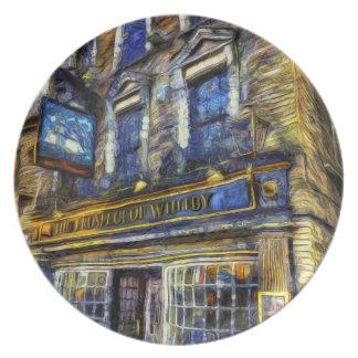 Prato A perspectiva do bar Van Gogh de Whitby