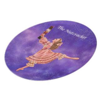 Prato A placa da lembrança do balé do Nutcracker